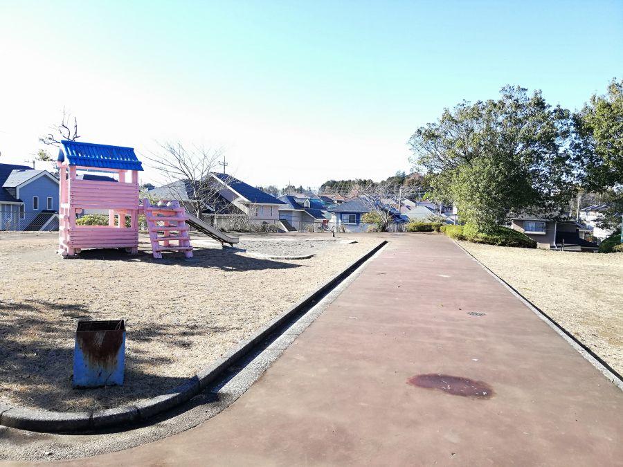 大崎台公園のアスレチック