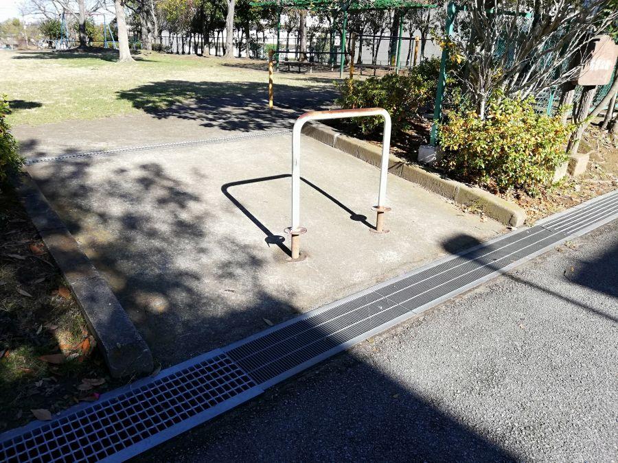 佐倉市 前原公園の入り口