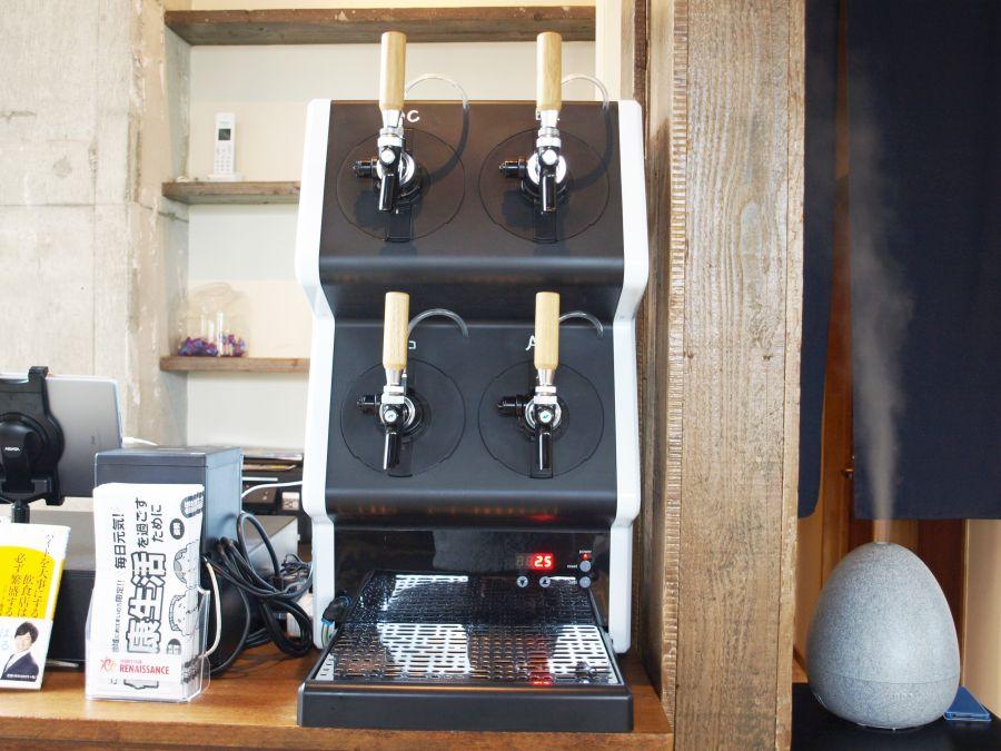 里山トランジット クラフトビールサーバー