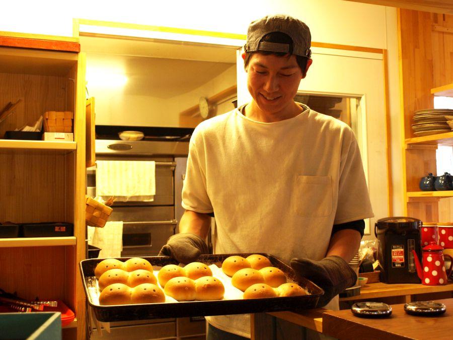 マルスベーグルの出来立てパン