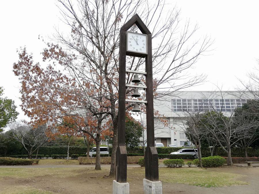 七井戸公園の時計