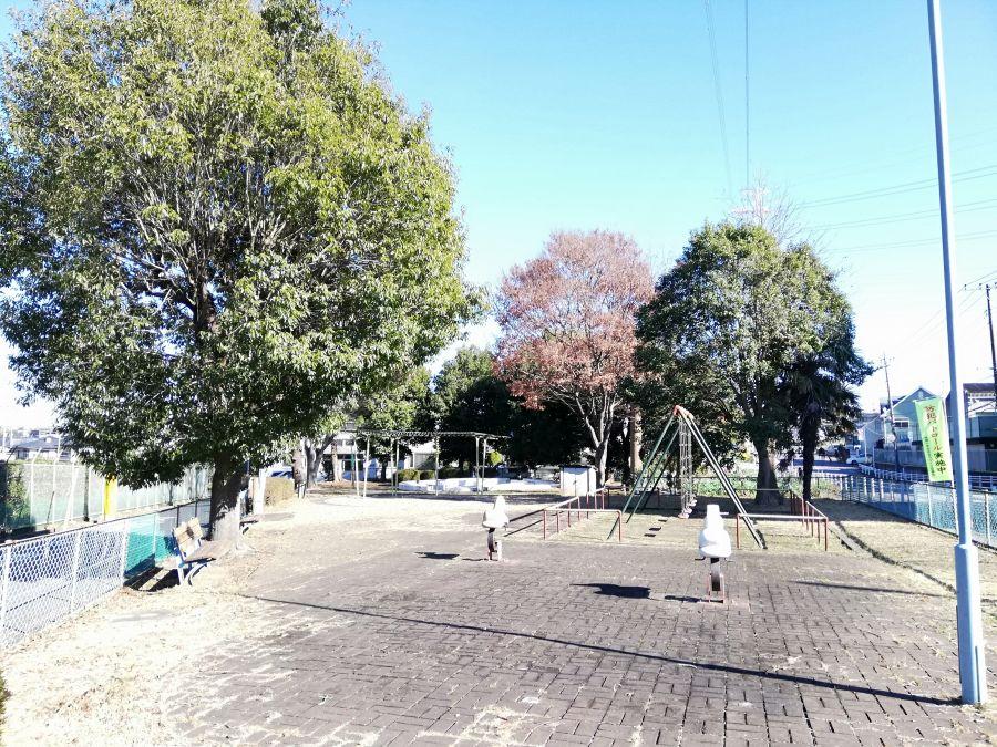 井戸作南公園の景色