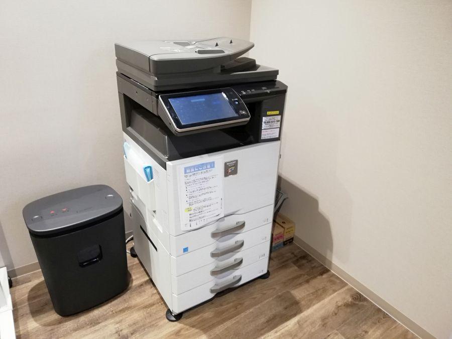佐倉市スマートオフィスプレイス コピー機