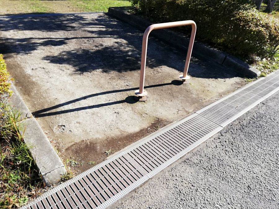 佐倉市 町田南公園の入口