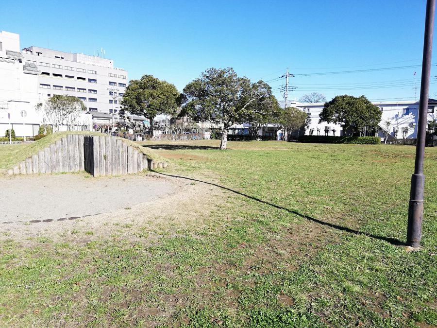 佐倉市 町田南公園の芝生の広場