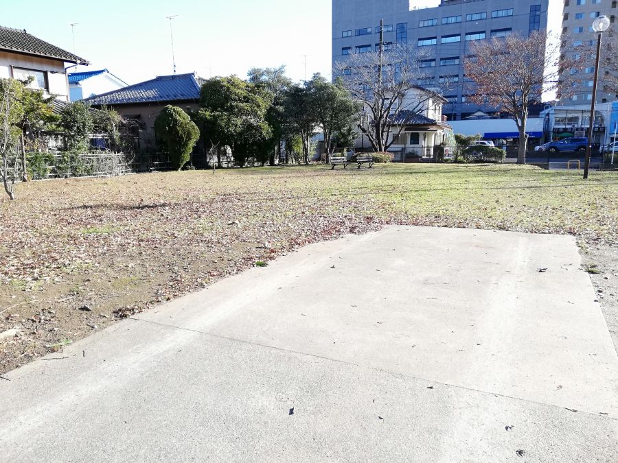 佐倉市 町田児童公園の入口