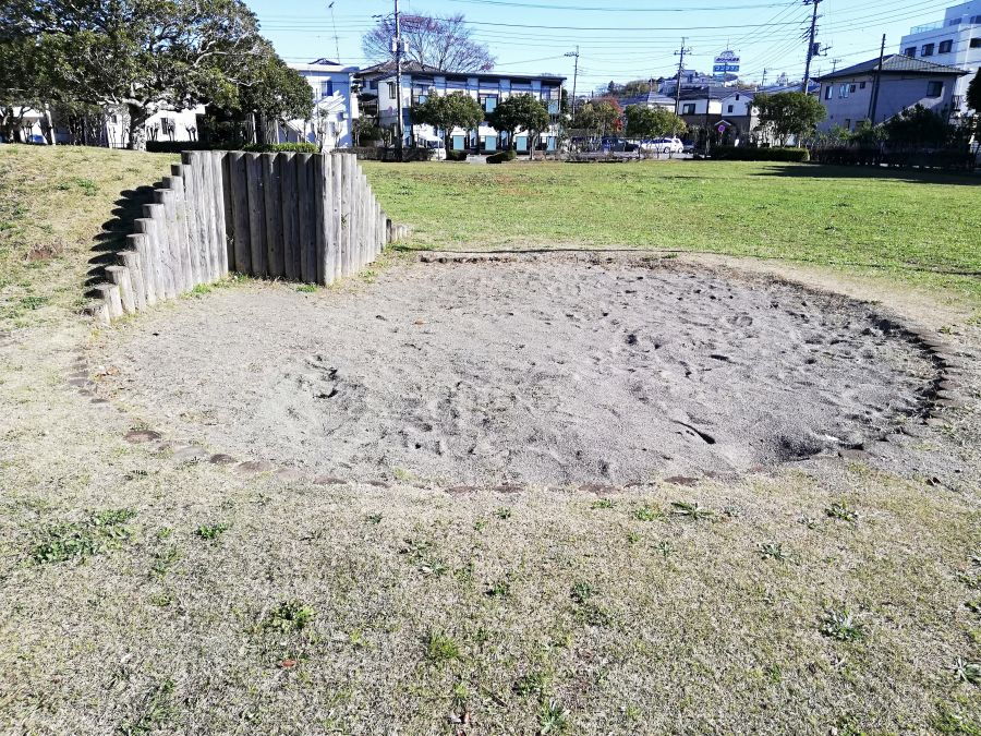佐倉市 町田南公園のまんまる砂場