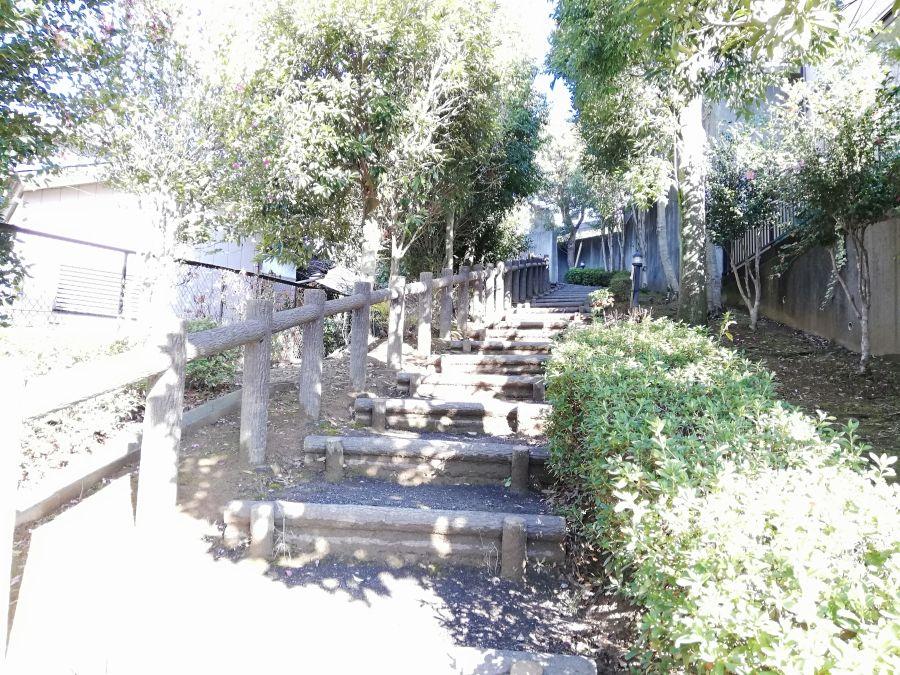 佐倉市 みはらし公園のショートカット階段
