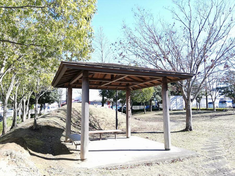 佐倉市 浅間前公園の古民家風休憩スペース