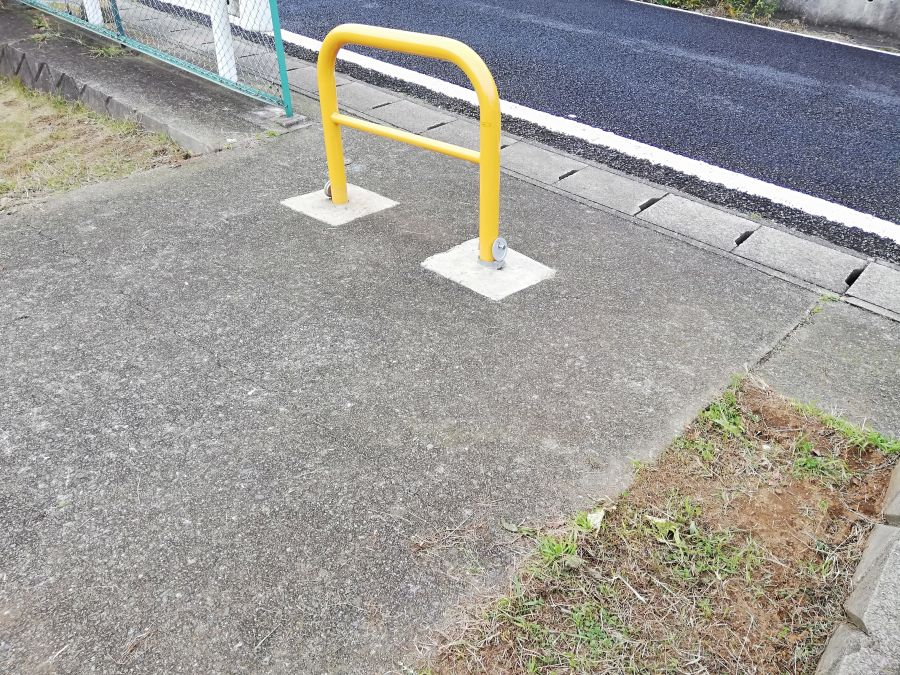 佐倉市千成2号公園の入口