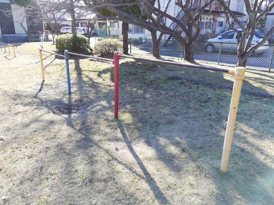 麦田児童公園のてつぼう