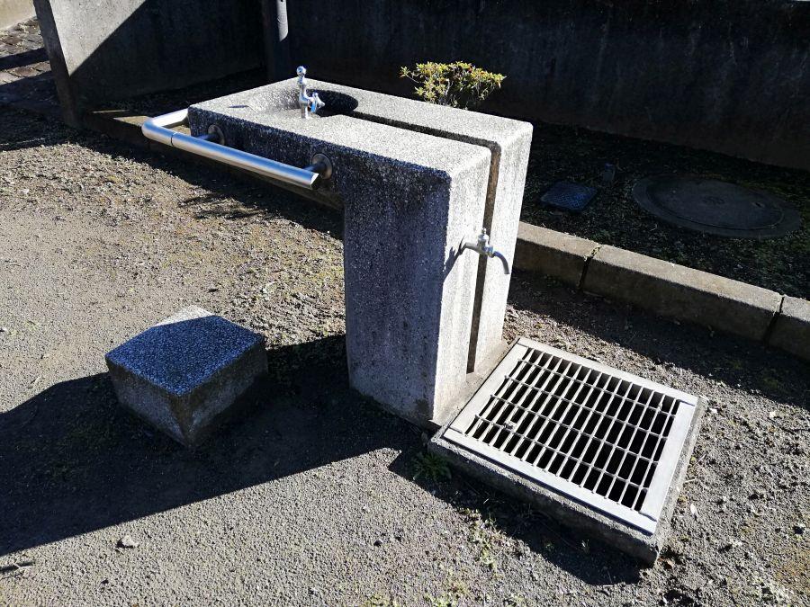 佐倉市 みはらし公園の水道