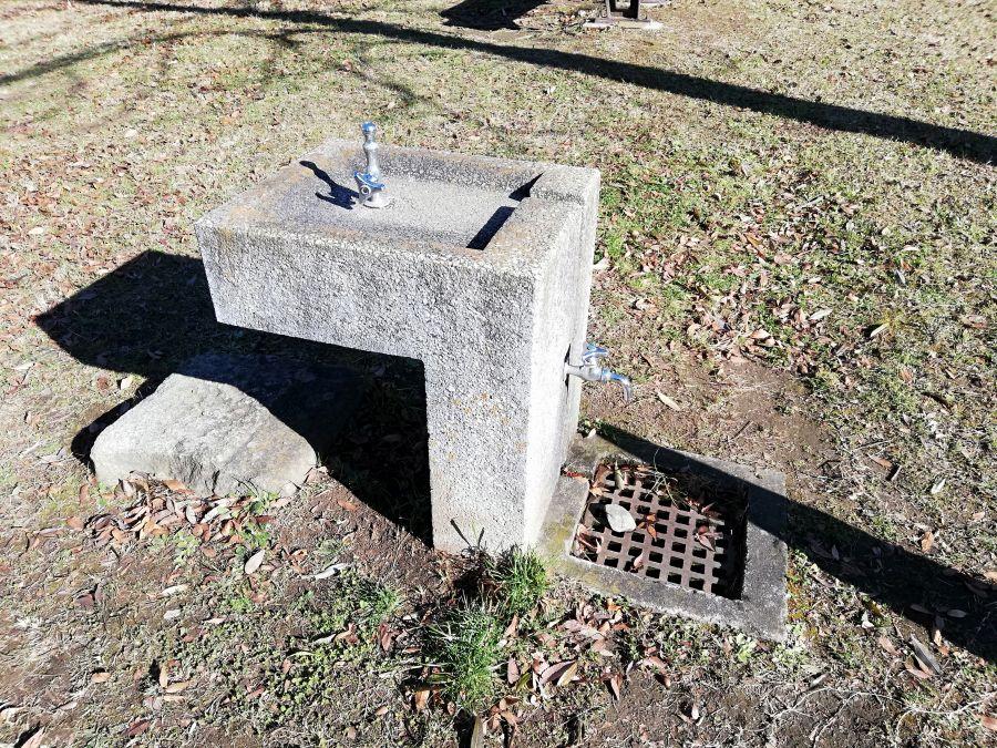 佐倉市 浅間前公園の水道