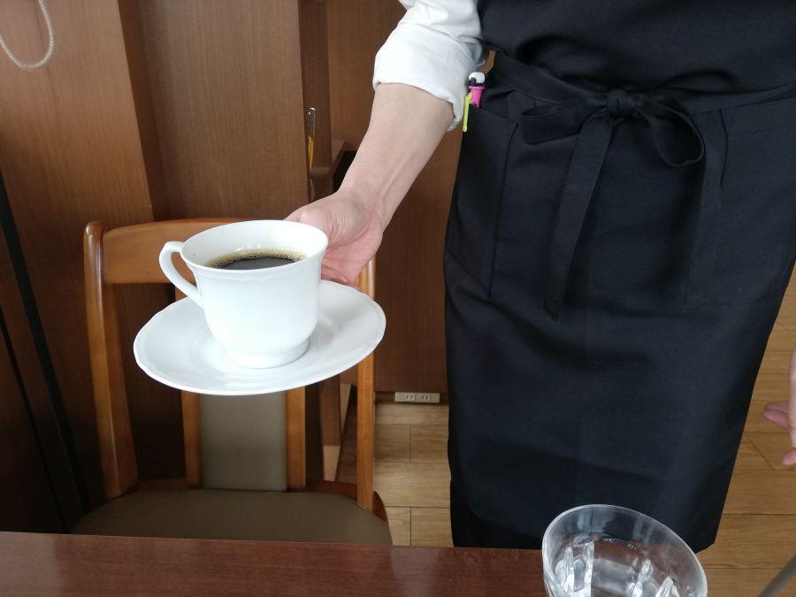 なのはな亭キッチン コーヒー