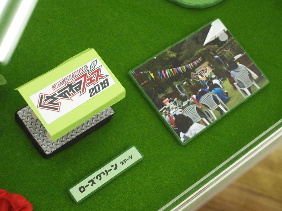 TSUTAYA佐倉店のジオラマ