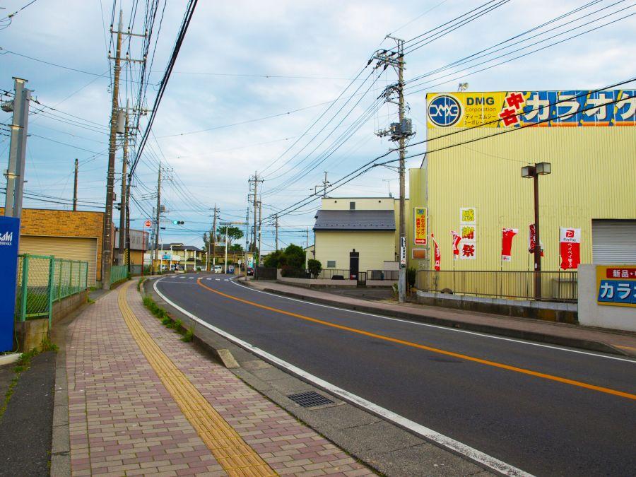 佐倉市 ペットホテルサクラ 道