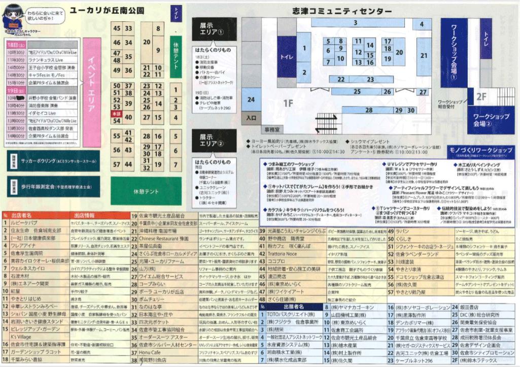 佐倉市 産業フェスタ2019