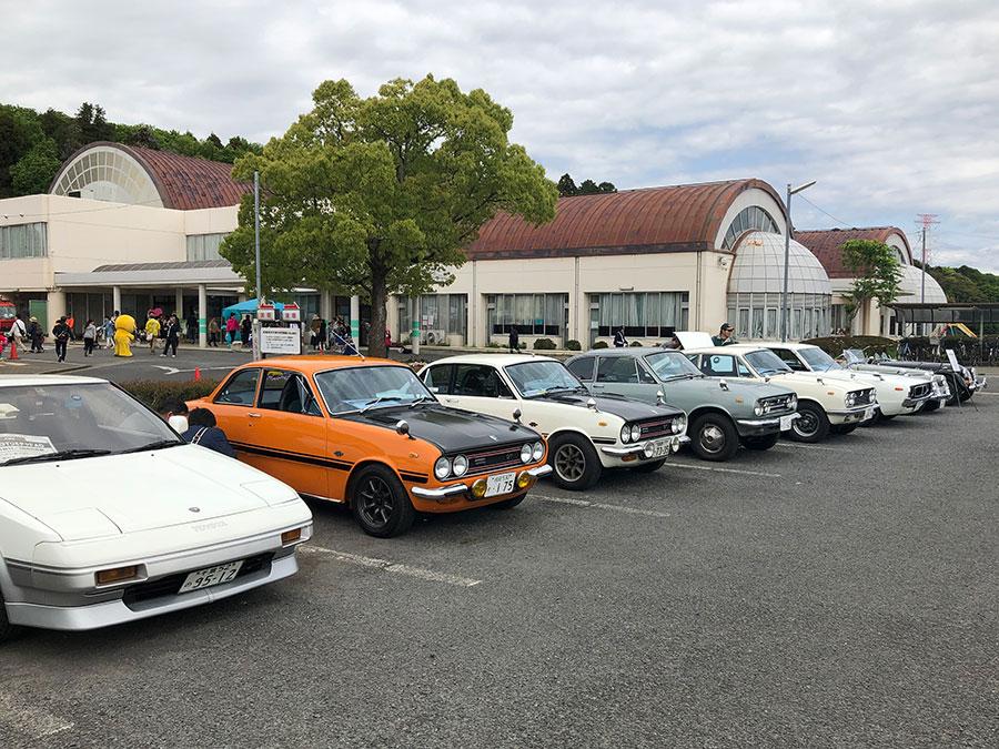 昭和の車がいっぱい【第36回緑のまつり】