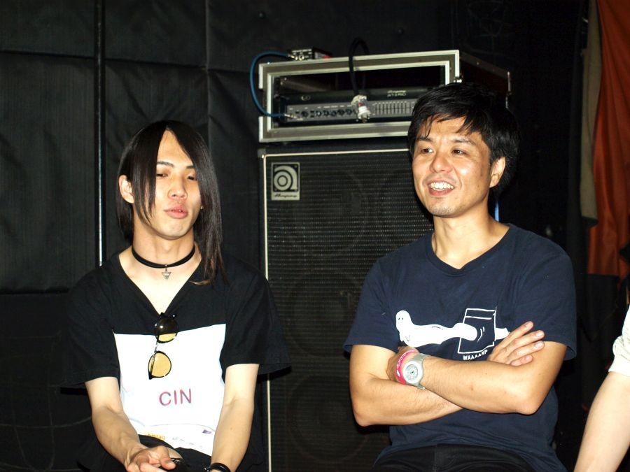 Halo at 四畳半 白井將人とSound Stream sakura ノブシラハタ