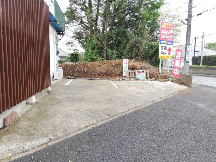 シティアイスクリーム&コーヒー 駐車場