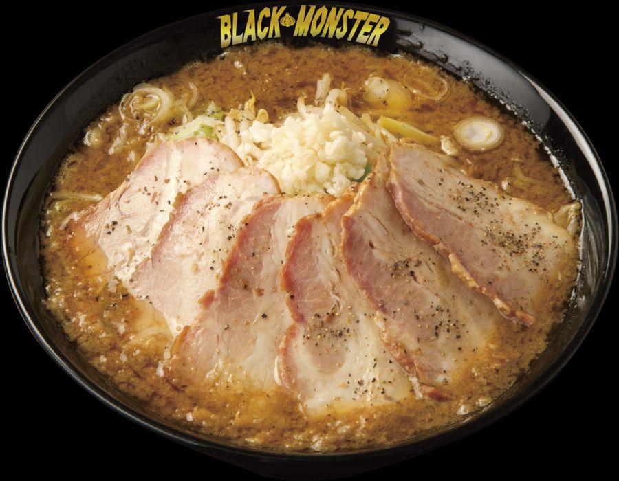 【嵐げんこつらあめん BLACK MONSTERチャーシューメン