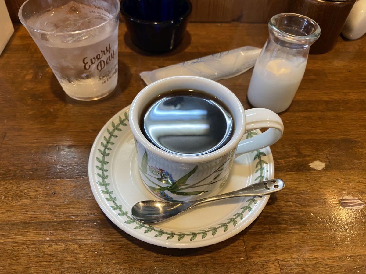 クランペット コーヒー