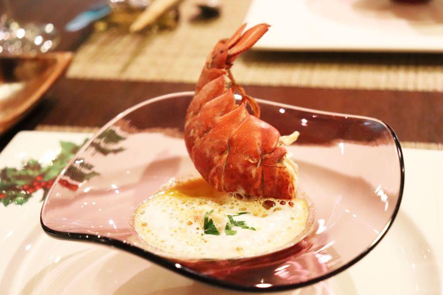佐倉市 イタリアンZucca(ズッカ) 料理 オマール海老のスープ