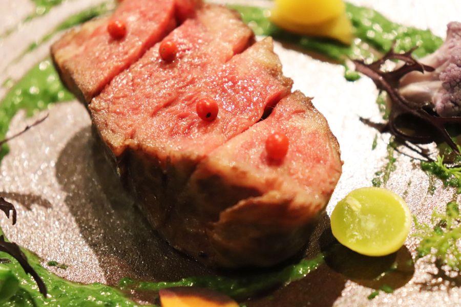 佐倉市 イタリアンZucca(ズッカ) 料理 八千代黒牛のロースト