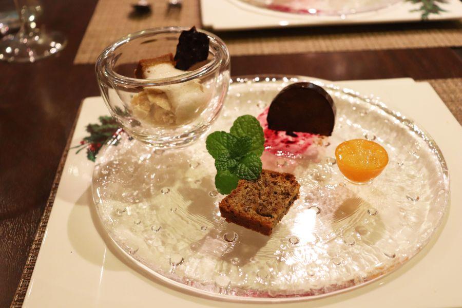 佐倉市 イタリアンZucca(ズッカ) 料理 ドルチェ ほうじ茶と佐倉かぼちゃのパフェ