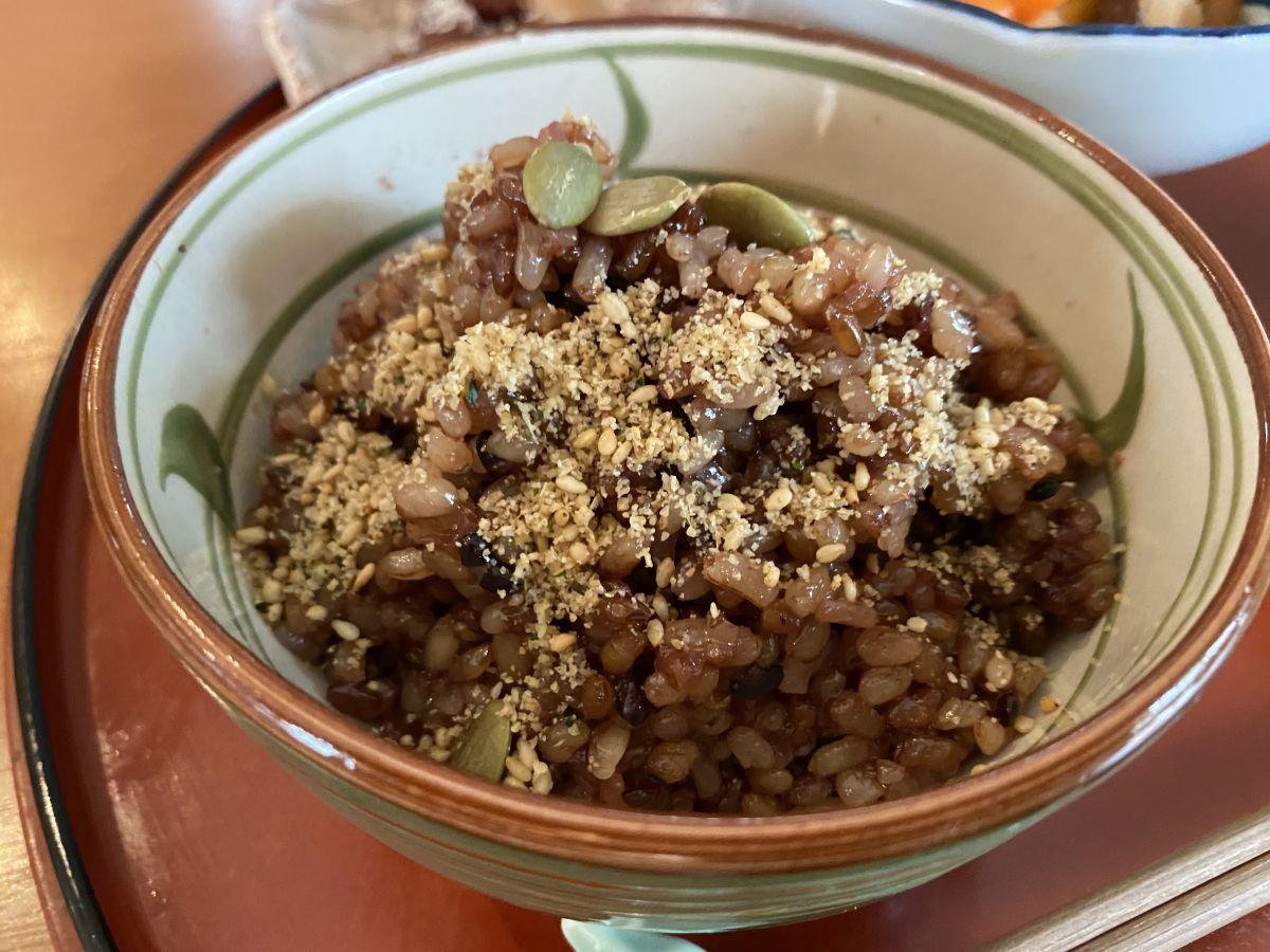 喫茶まめ 発酵玄米