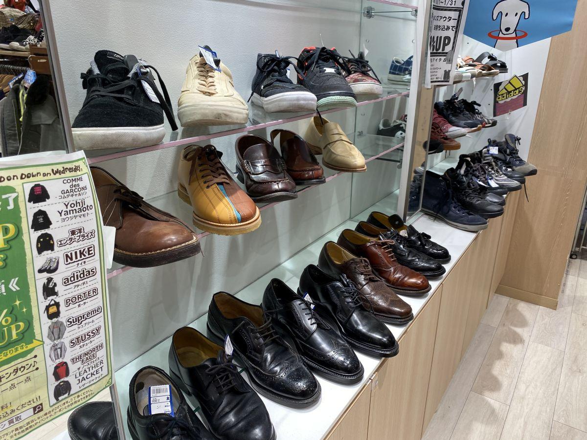 ドンドンダウン 靴