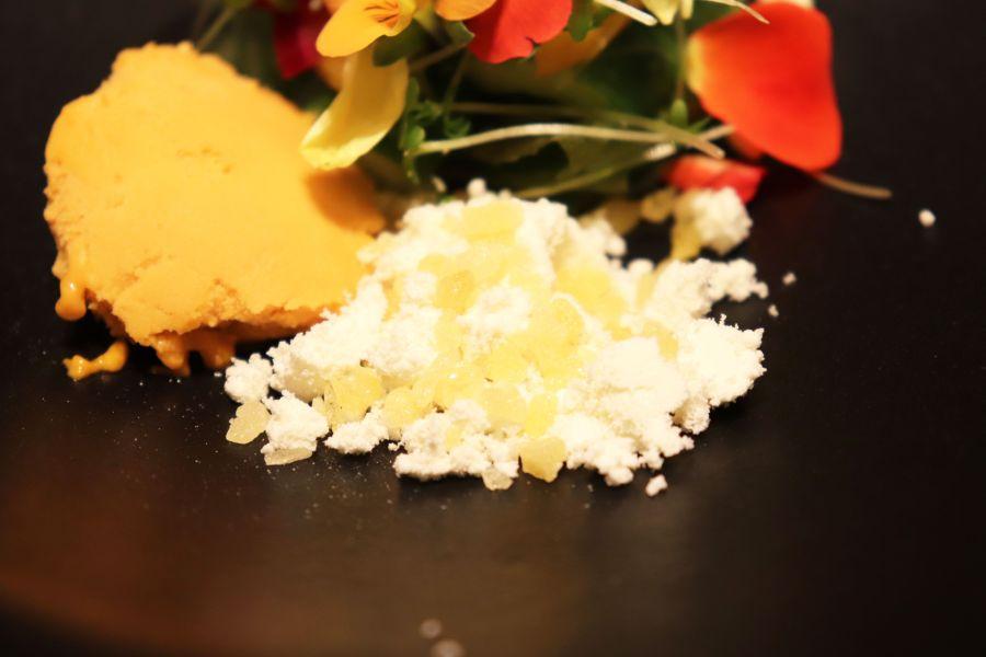 佐倉市 プレゼンテスギ コース料理 Sugi畑をお皿に乗せて