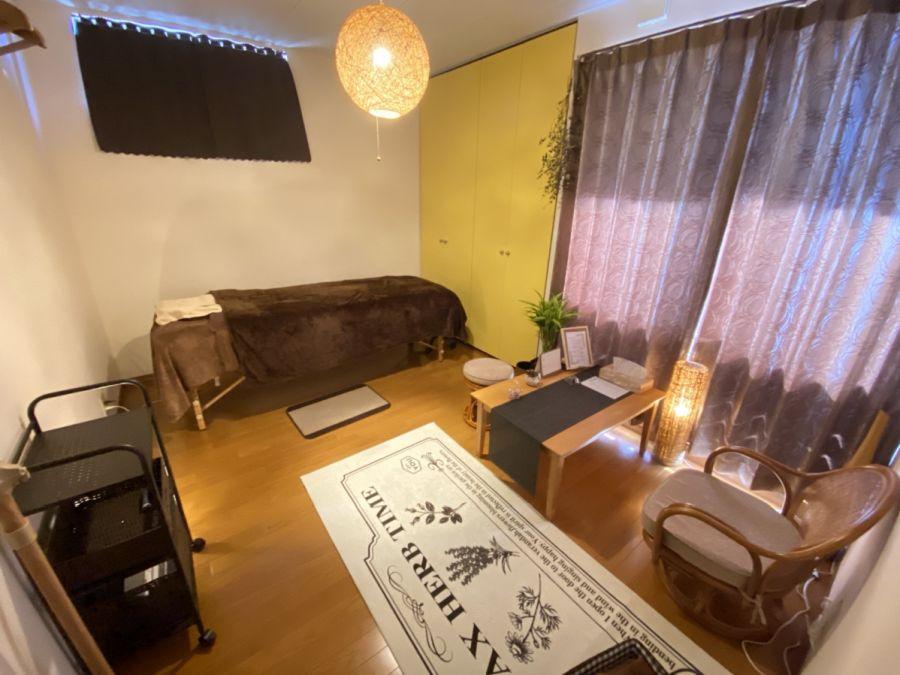 佐倉市 エテルニタ アロマトリートメント 施術スペース