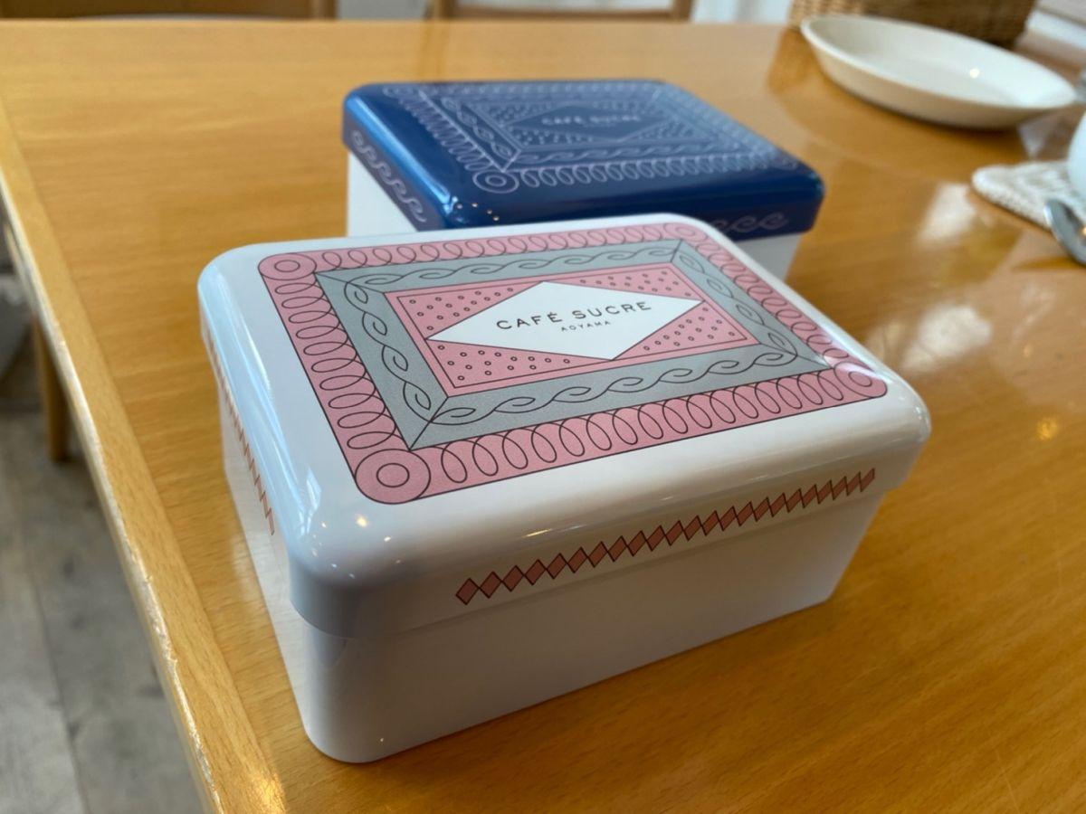 Cafe Sucre オリジナル菓子缶