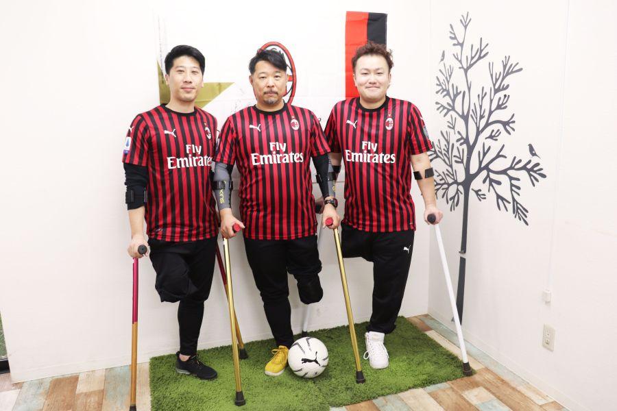 佐倉市 ACミラン アンプティサッカー 松田倫治さん 根本大悟さん 平伸也さん