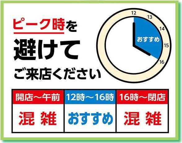 2020年5月18日 佐倉市 いなげや佐倉店 営業時間変更