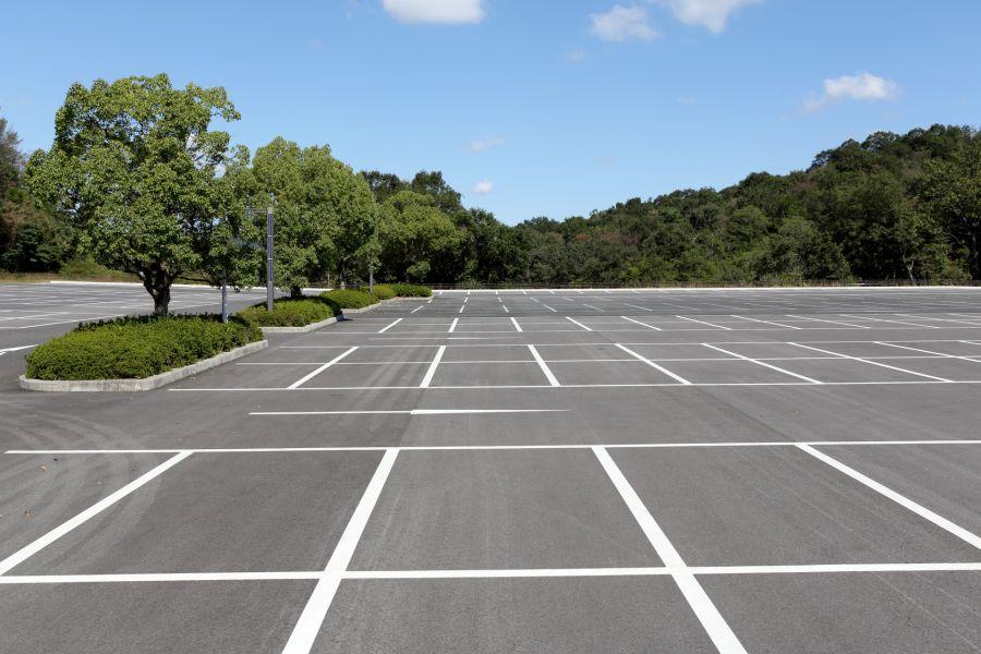 2020年11月から 佐倉市図書館 建て替え工事開始 駐車場イメージ画像