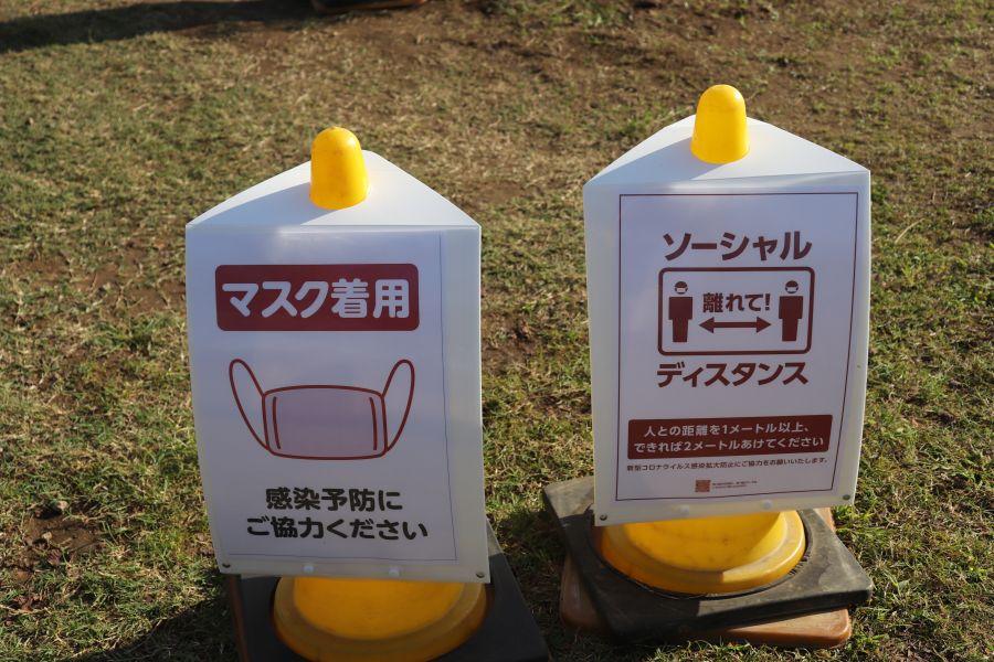 2020年10月6日 佐倉市 ふるさと広場 コスモス 来場注意点