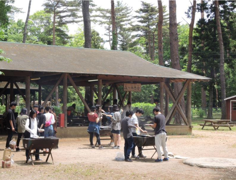 佐倉市 佐倉くさぶえの丘 第一キャンプ場