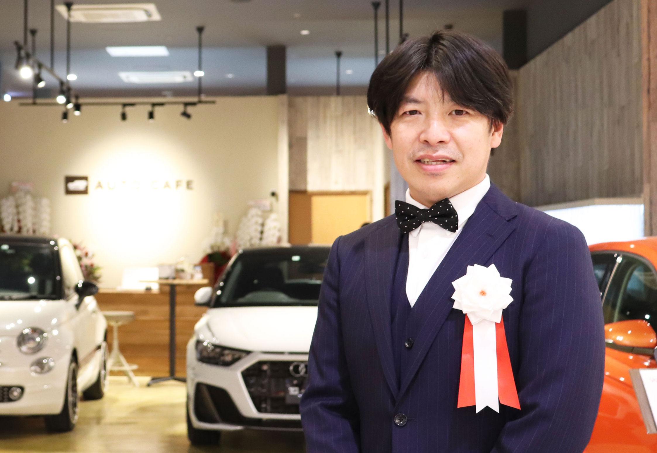 オリベート パシフィックプロジェクト萩原社長